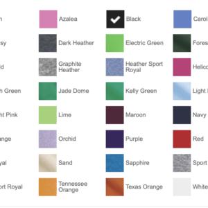 G8000 Colors